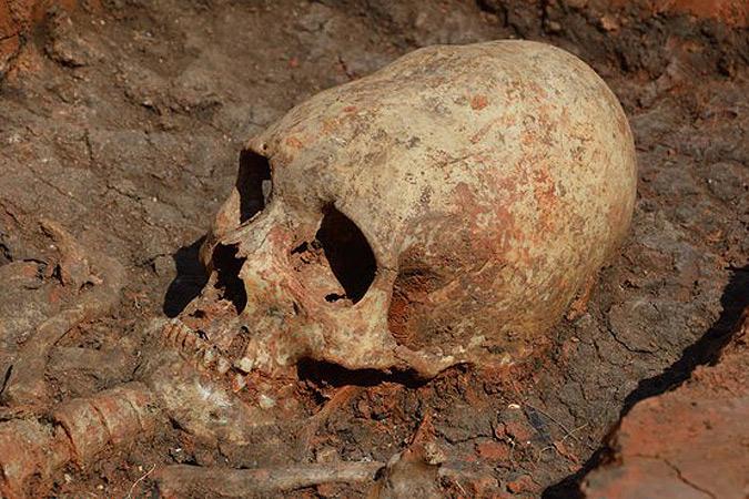 Российские археологи нашли «инопланетянку»