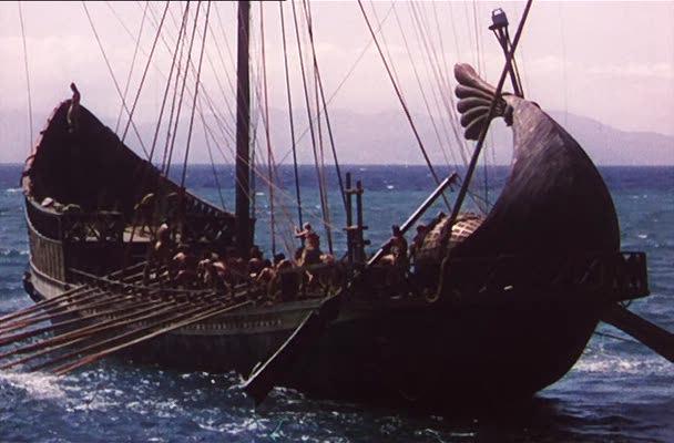 Странствия Одиссея - пути греческих моряков