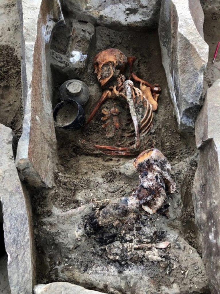 Археологи нашли мумию в зоне затопления Саяно-Шушенской ГЭС