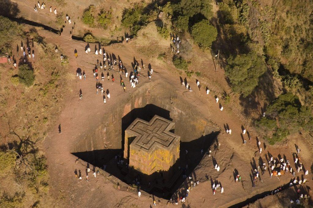 Скальные храмы Лалибелы