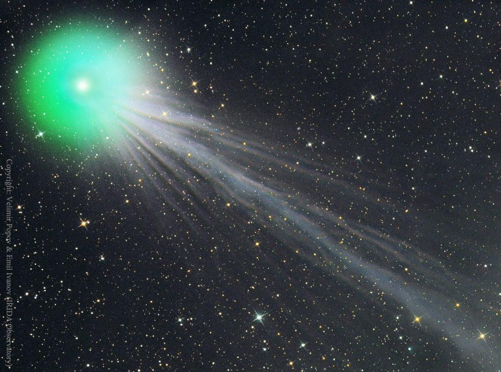 «Пьяная» комета