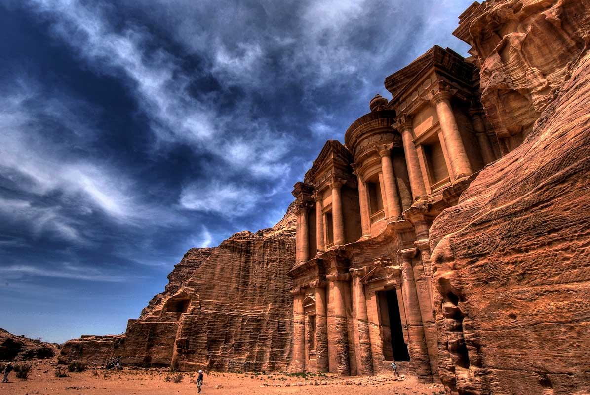 Храмовая Петра - мертвый город