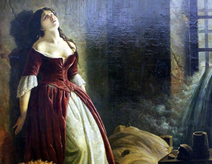 Княжна Тараканова - две узницы Екатерины