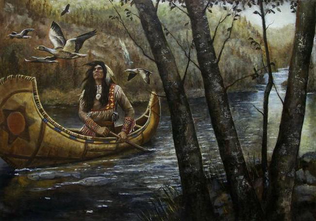 Гайавата - истоки легенды