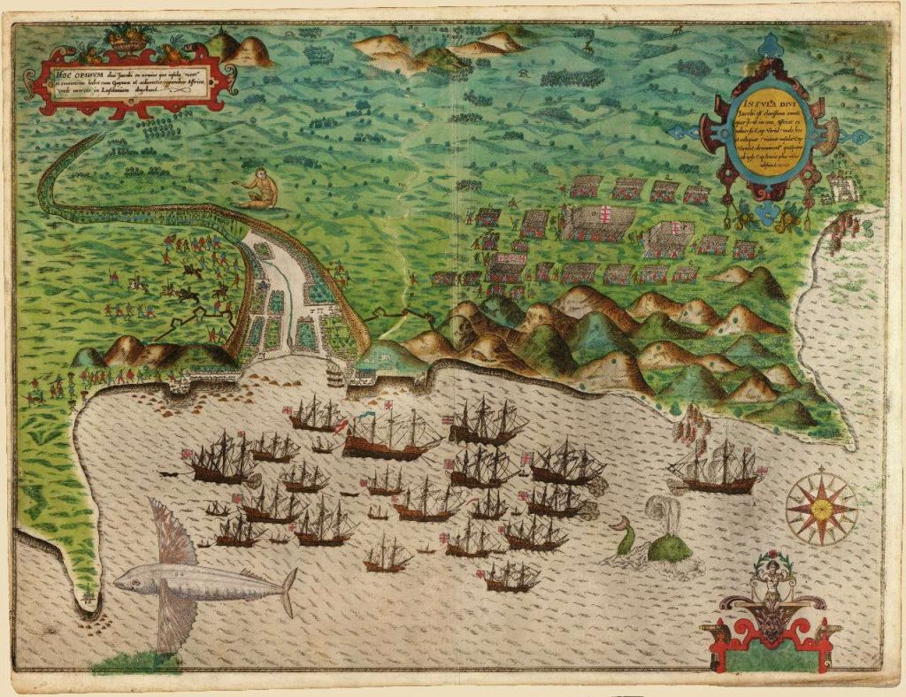 Пропавшая колония Роанок - опоздание Джона Уайта
