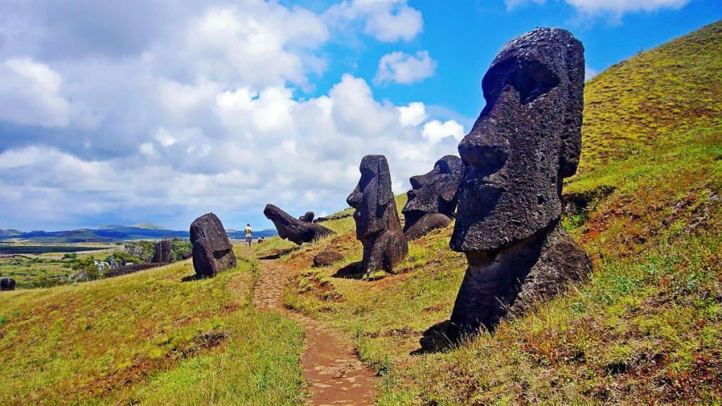 Остров Пасхи и его идолы