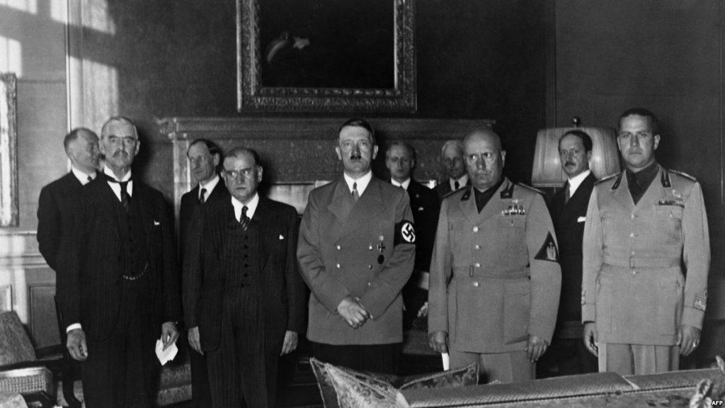 Территориальные захваты гитлеровской Германии до Второй мировой войны