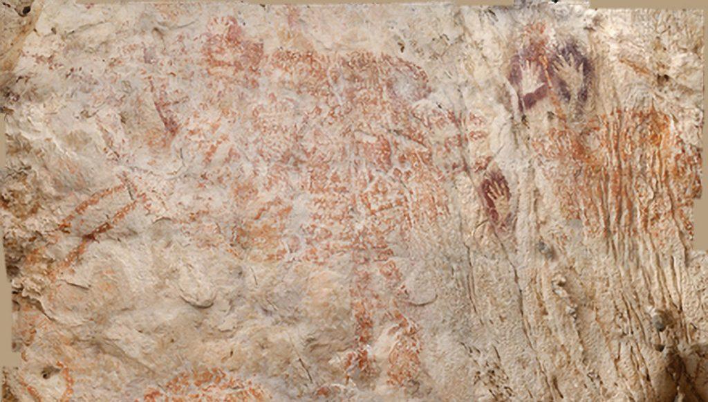 В Индонезии найден древнейший рисунок животного