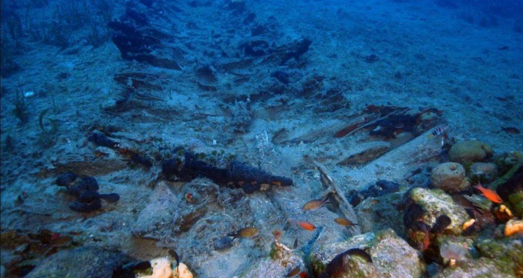 Корабль позднего средневековья найден аквалангистами