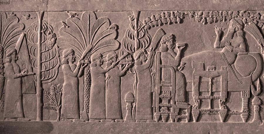 Музыкальный обряд Месопотамии