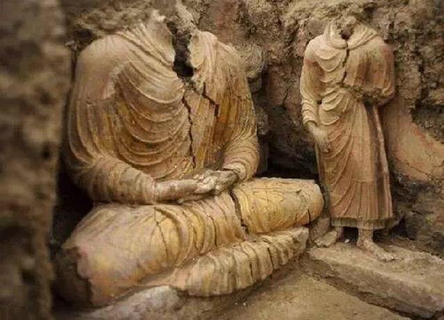 В Кабуле найдена древняя статуя Будды