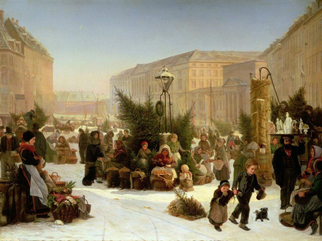 История празднования Нового года