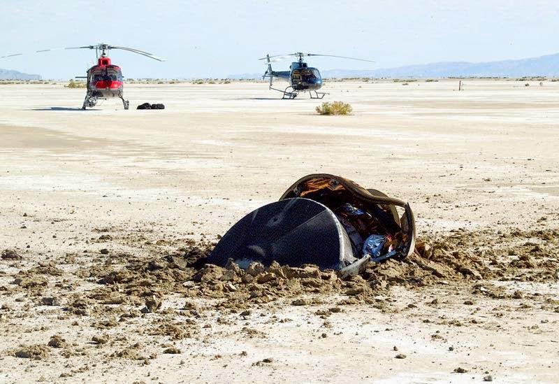 Сотрудники NASA признались что в пустыне разбился не НЛО
