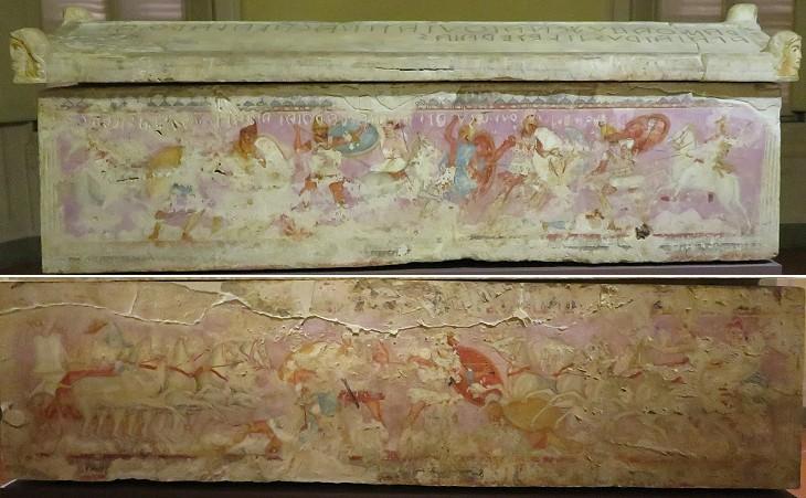 Археологи открыли «комиксы» Древнего Рима