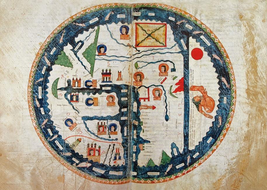 Священная география. Карты как приложения в ранних христианских книгах