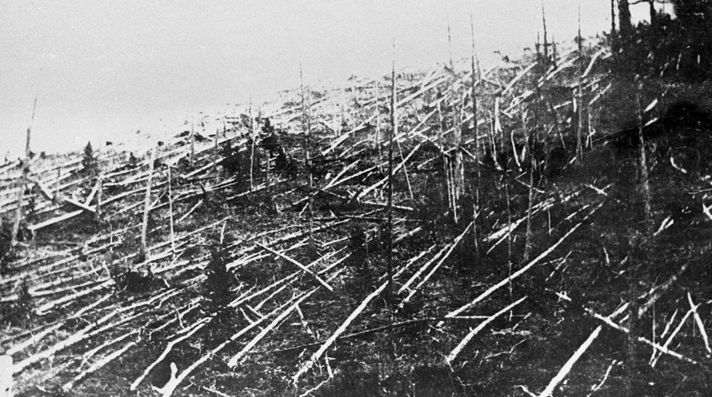 Тунгусская загадка - взрыв над тайгой