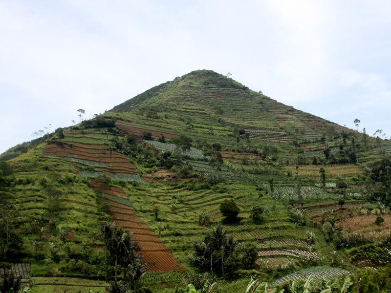 На острове Ява обнаружена очередная пирамида