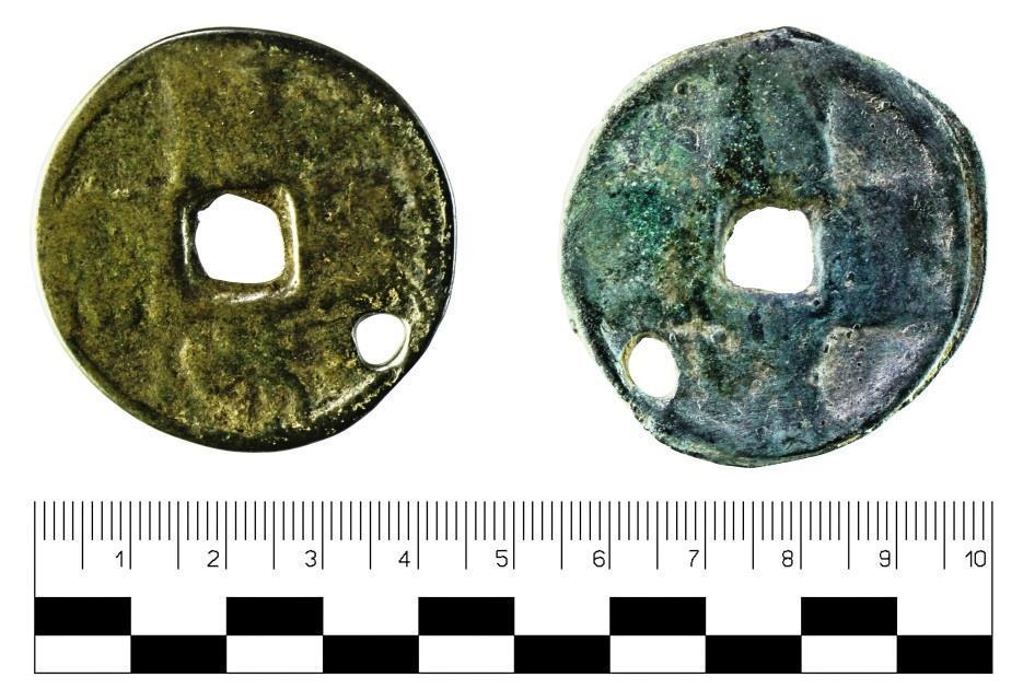 Найдена монета эпохи государства Бохай