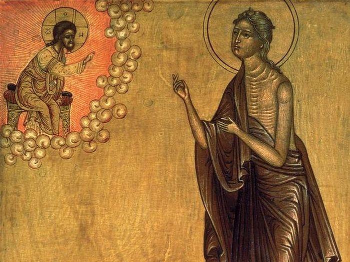 Раскаяние Марии Египетской