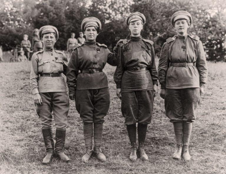 Женские батальоны смерти в Первой мировой войне