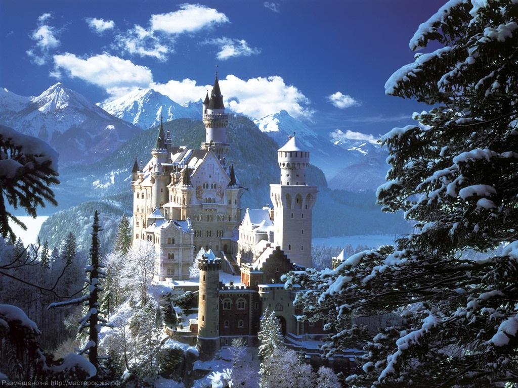 Нойшванштайн - замок короля Людвига II