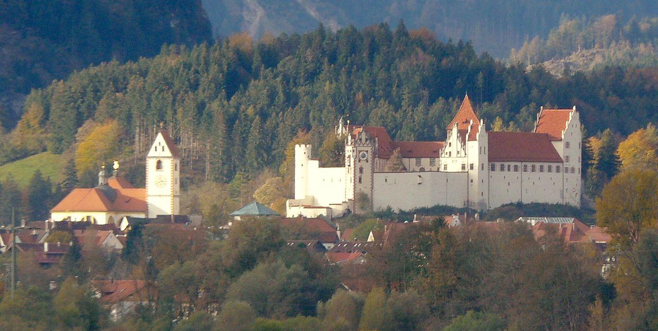 Замок Фюссен