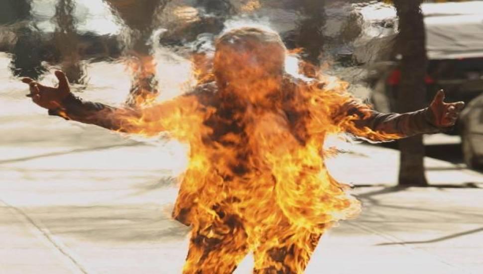 Феномен спонтанного возгорания человеческого тела