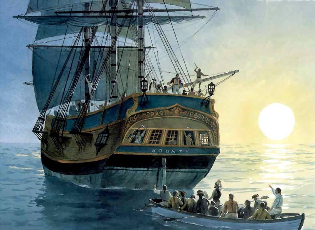 Бунт на корабле «Баунти» - история легендарного парусника