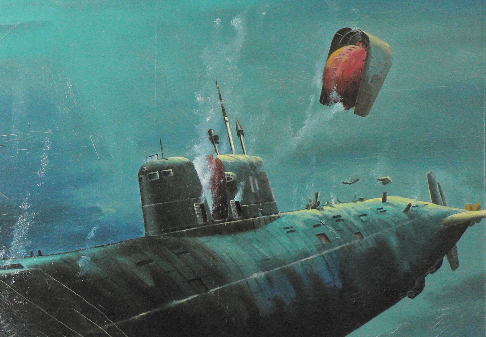 Мировой океан - ядерная свалка