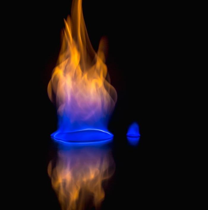 Природный газ - история использования органического топлива