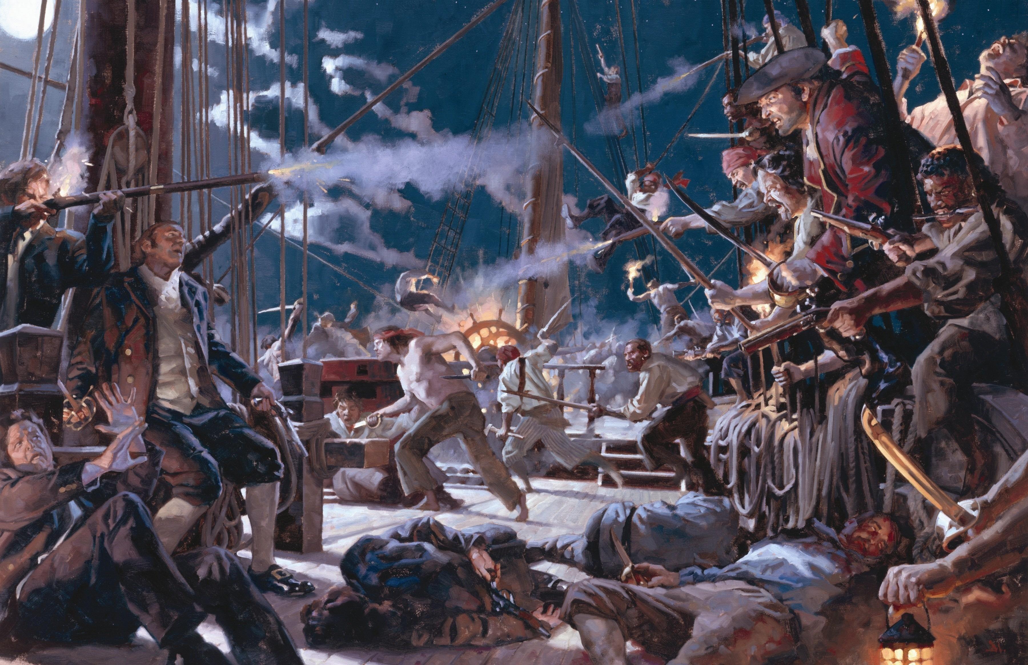 На абордаж! Тактика морского боя