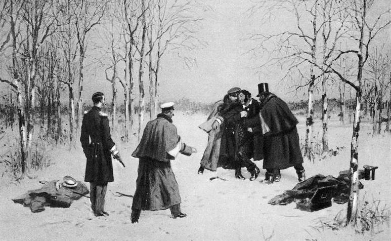 Роковая дуэль - на поединок с Пушкиным Дантес надел кольчугу?