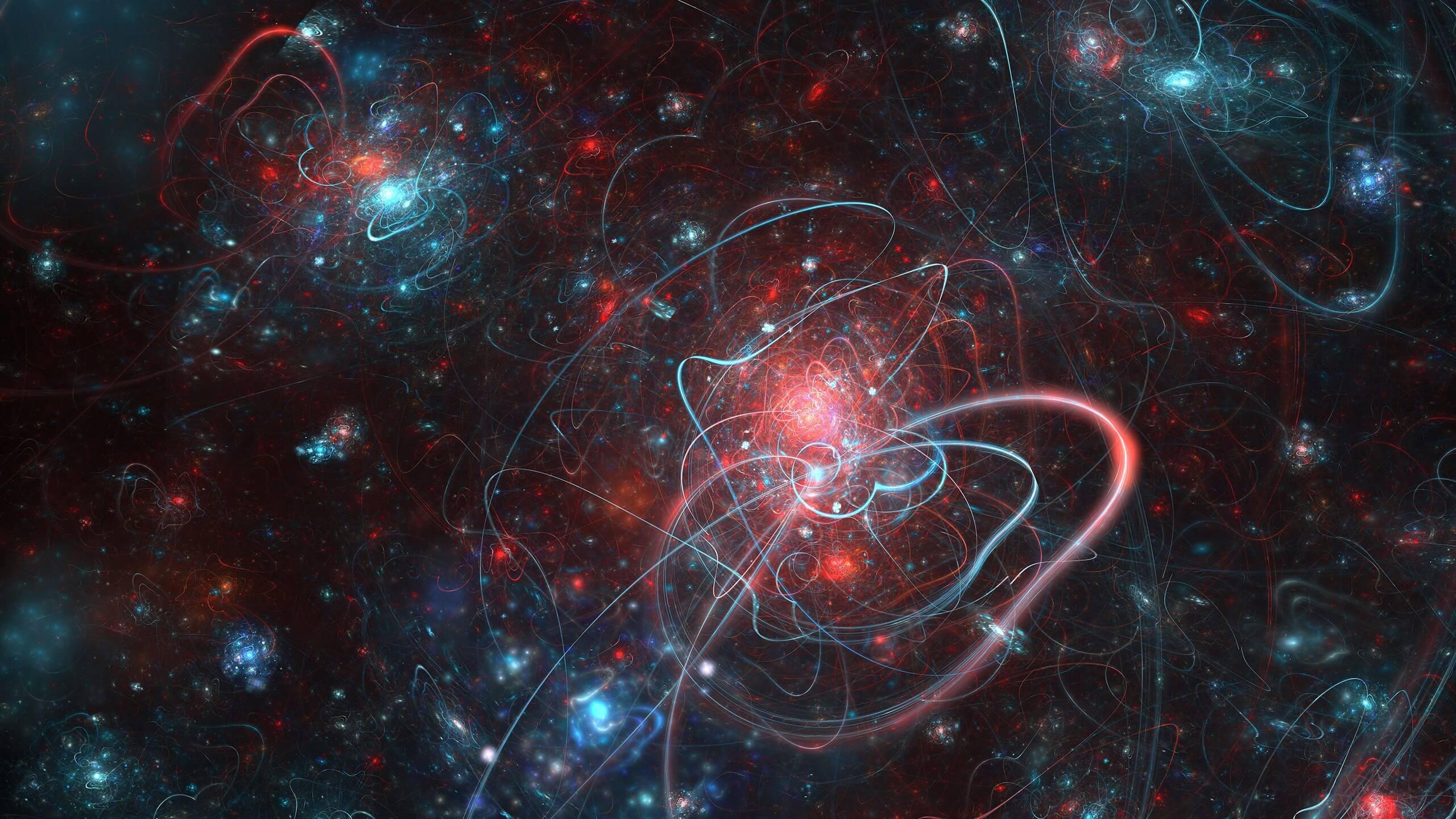 Теория взаимодействия частиц во Вселенной