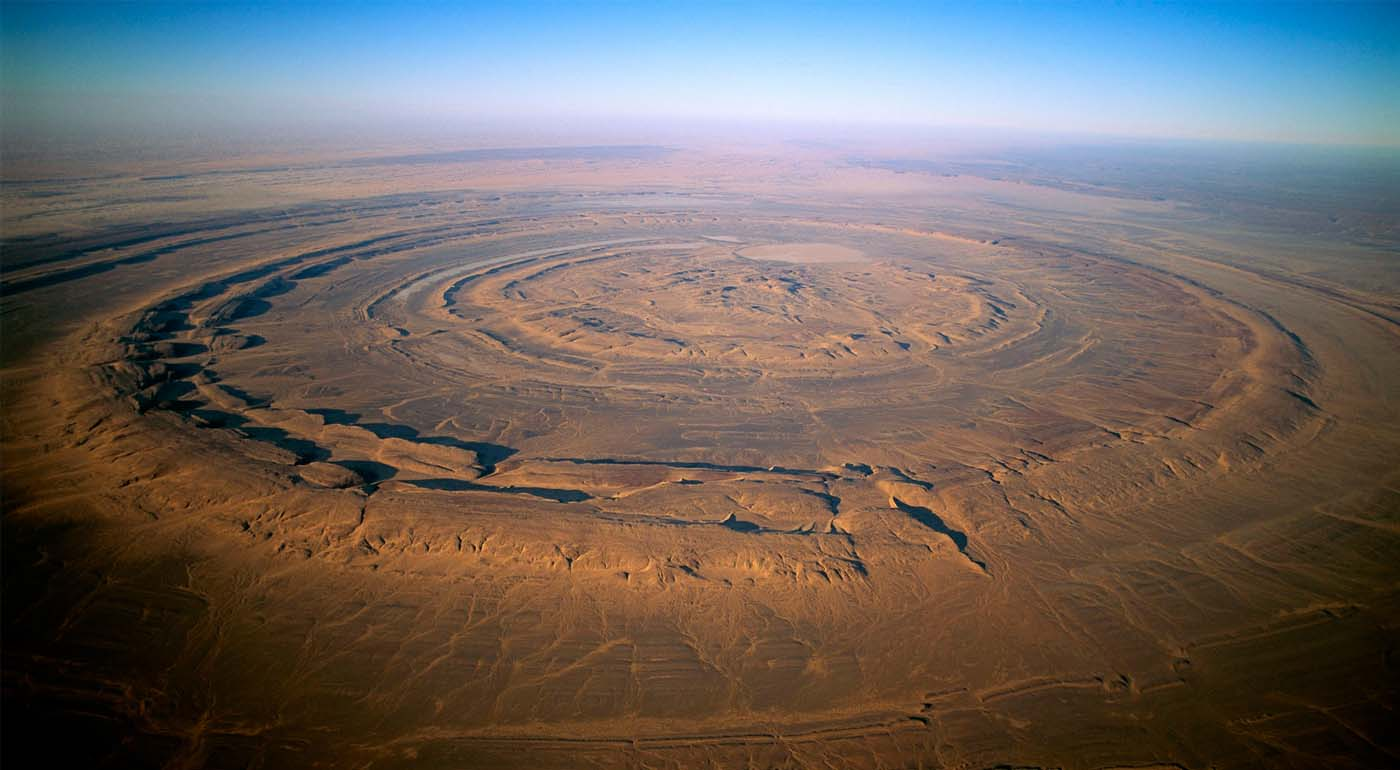 Таинственный глаз Сахары