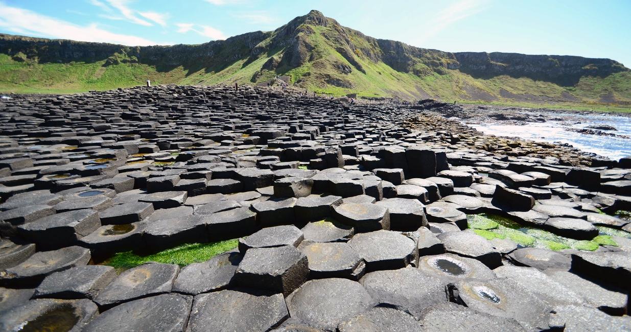 Дорога гигантов в Ирландии