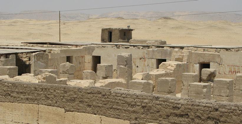 Археологами найден неизвестный дворец фараона