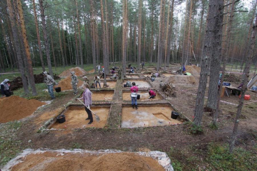 Многослойный курган сарматов найден в Архангельской области