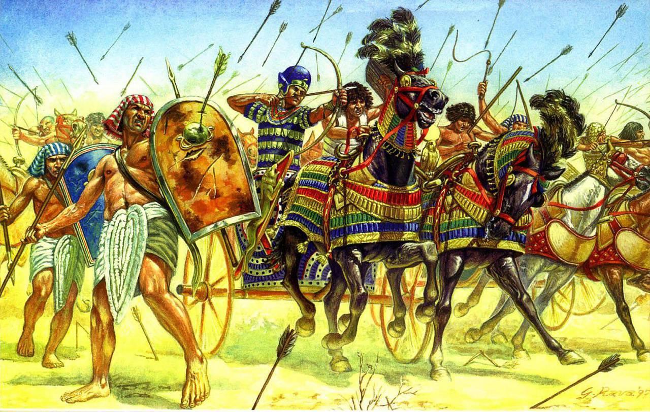 Битва при Кадеше - кровавая ничья