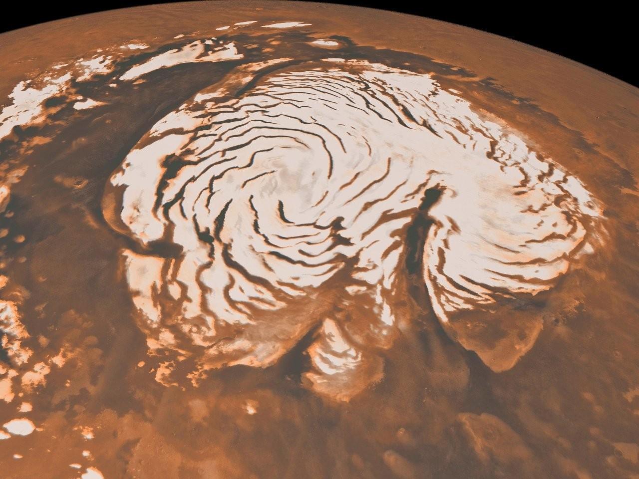 На Марсе подтверждены гигантские запасы воды