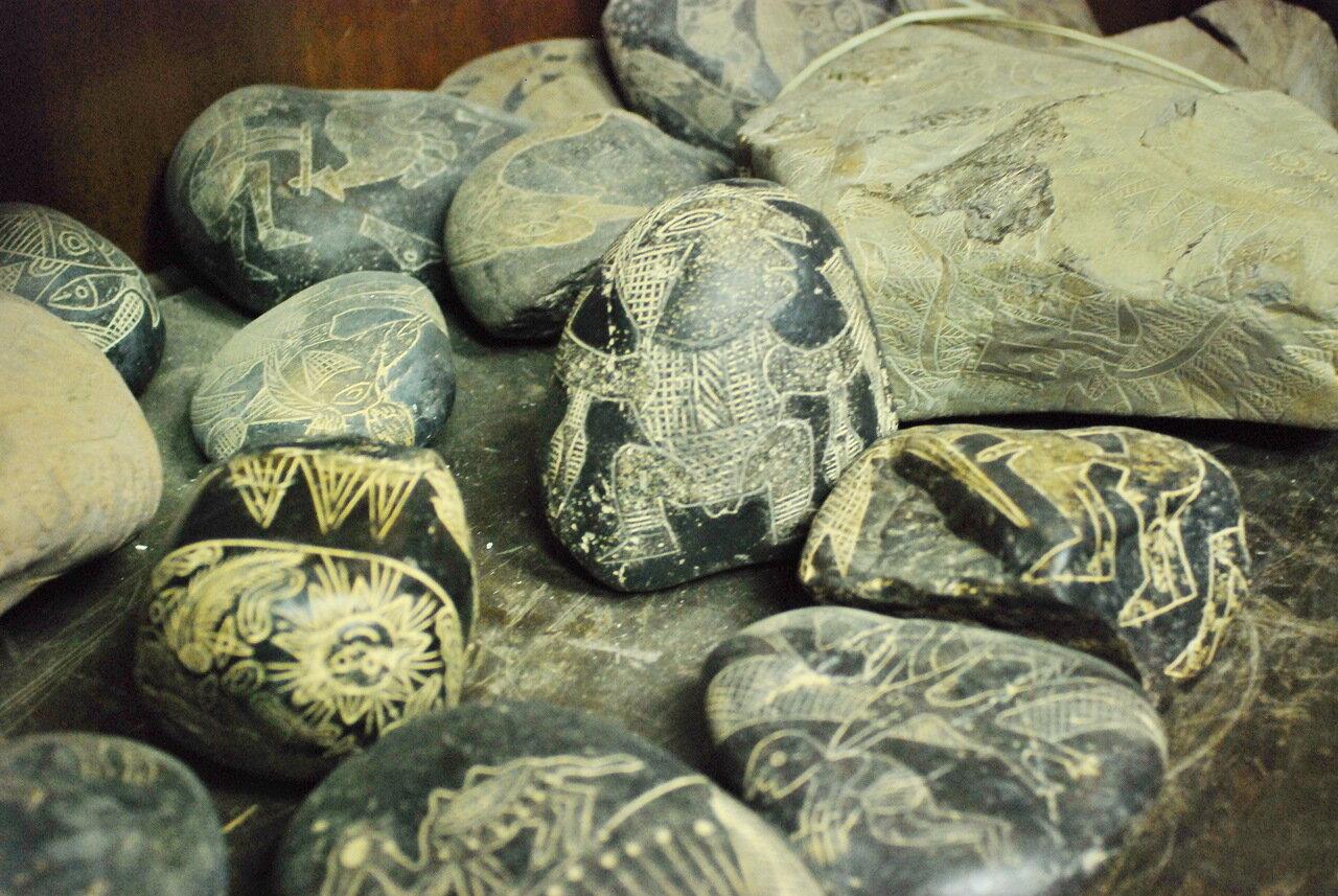 Камни Ики - послание от других цивилизаций?