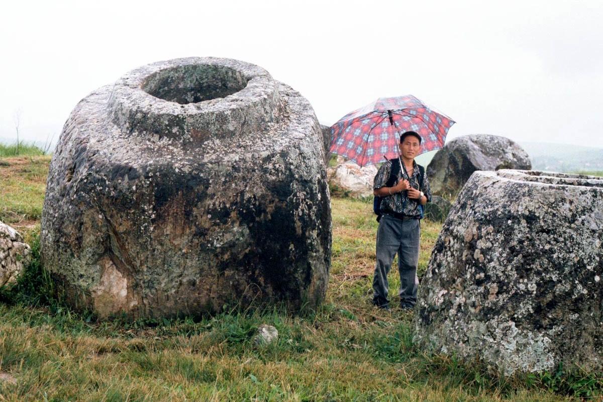 Каменные кувшины Лаоса