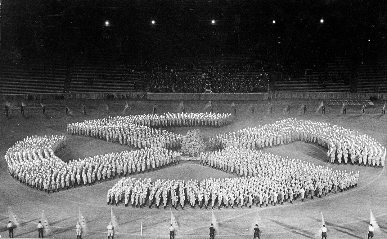 Берлин, 1936 - Олимпиада нацистов