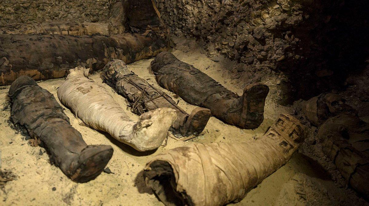 Безымянные могилы Египта: археологи нашли около 40 загадочных мумий