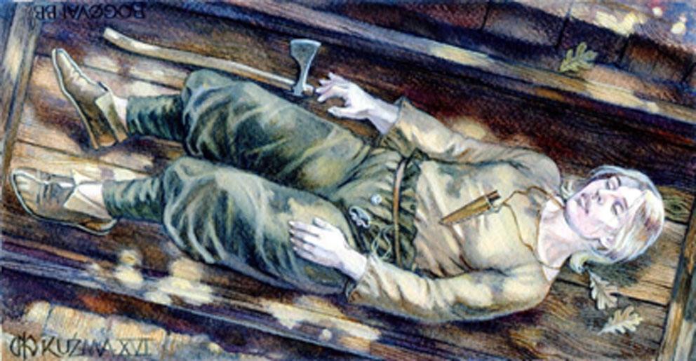 Славянская воительница найдена в Дании