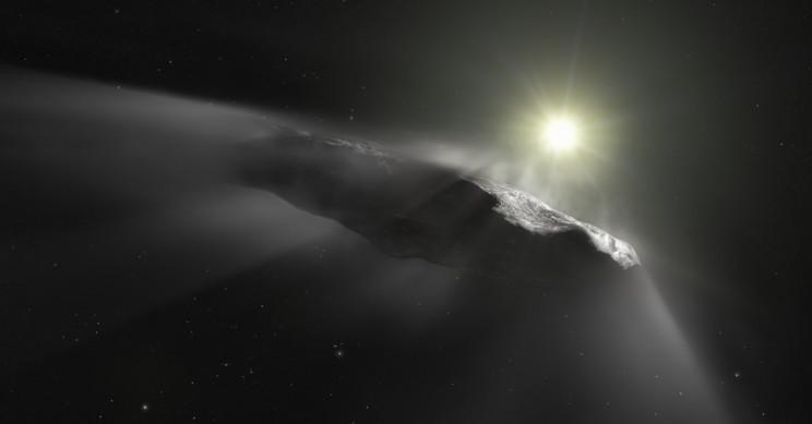 «Корабль» оказался астероидом