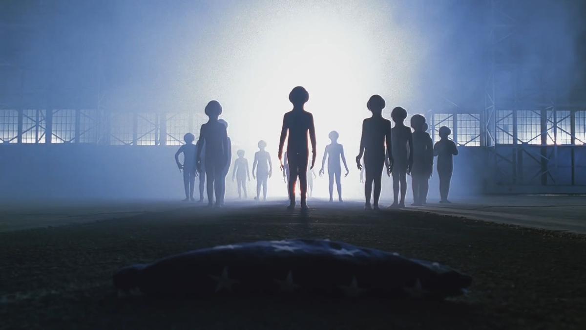 Люди превратятся в пришельцев