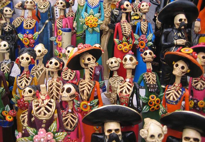 Культ Святой Смерти - главное божество мексиканских наркокартелей