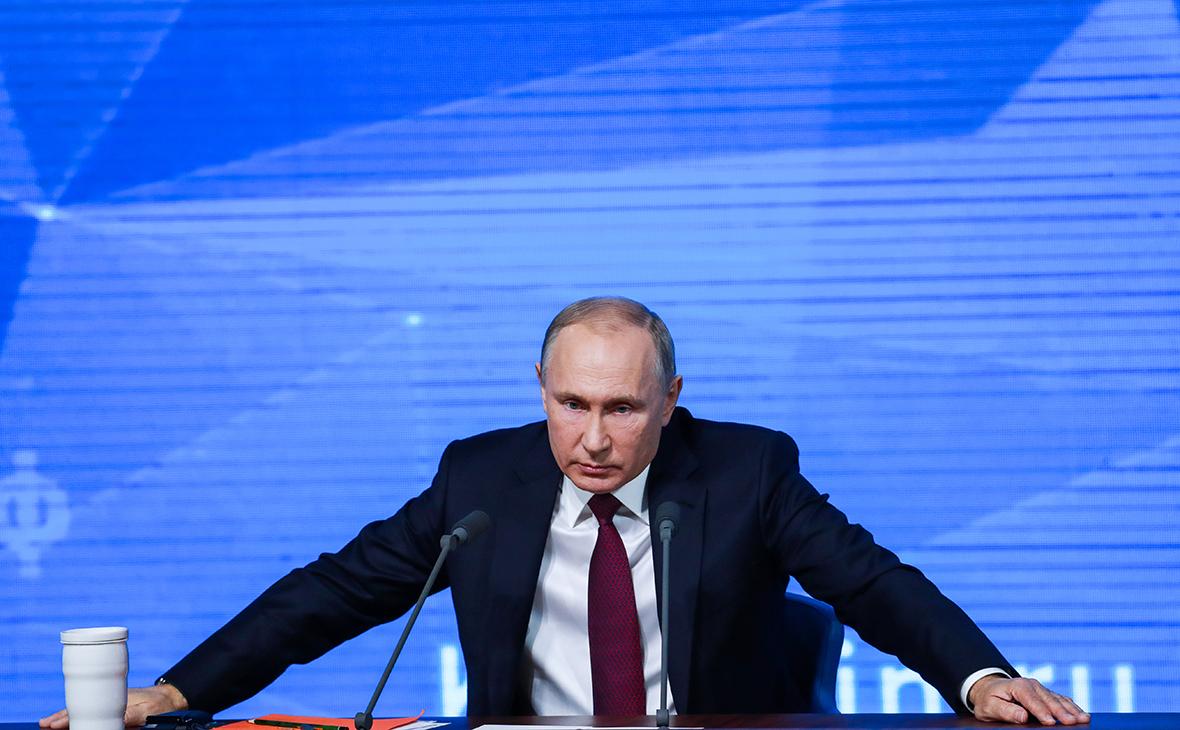 Путин: 20 лет при власти