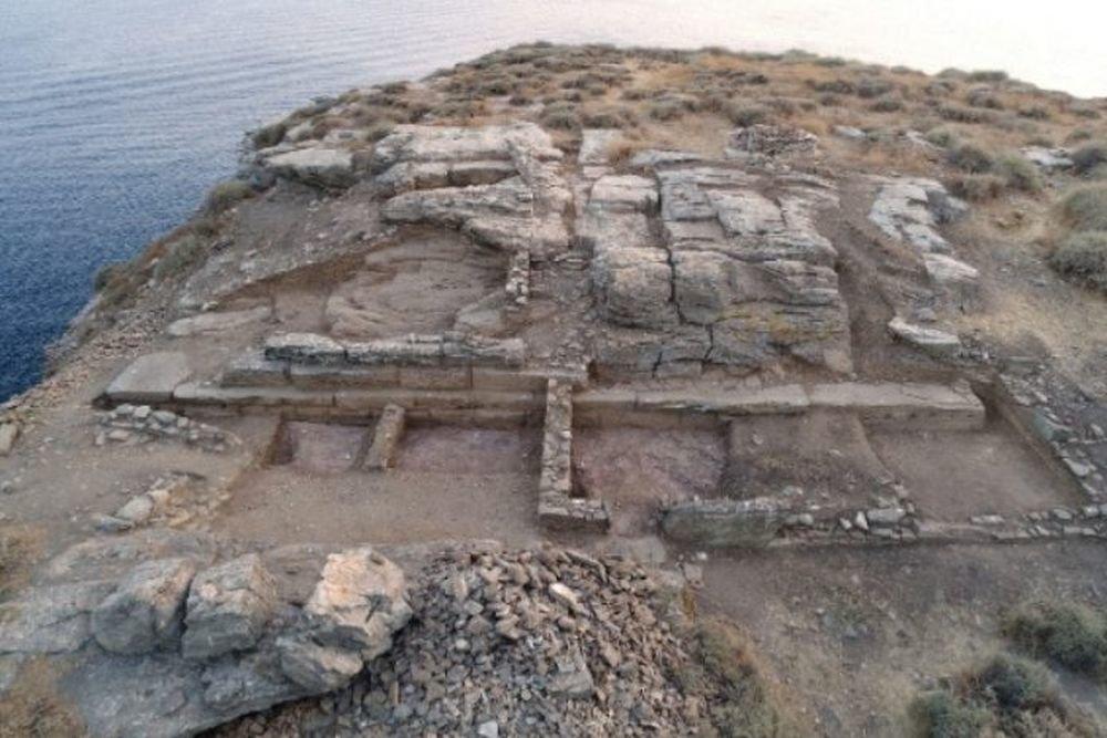 На греческом острове откопали затерянный город Византии