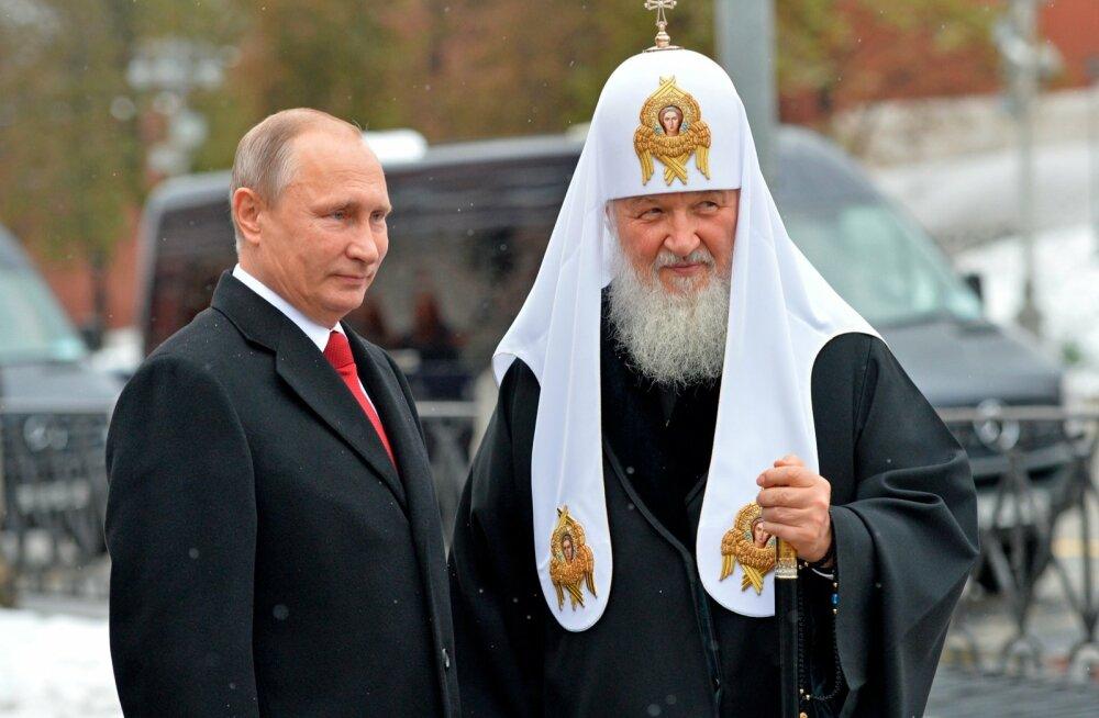 Патриарх Кирилл: часы, резиденции и конкурент-духовник Путина